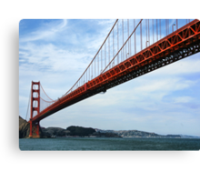So Many Bridge Views...Here's One More! Canvas Print