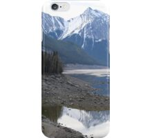 Maligne Lake Alberta Canada iPhone Case/Skin