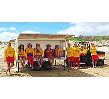 Jan Juc SLSC patrol Photographic Print