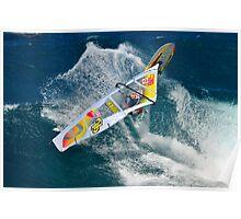 Wavesailing Hawaiian Style .... Poster