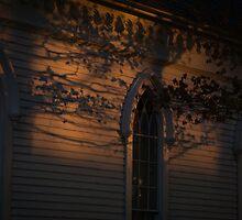 Church in the Twilight by Joy Hurlburt