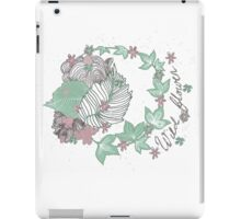 Wild Flower ! iPad Case/Skin