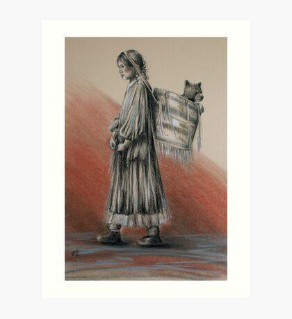The Gatherer Art Print