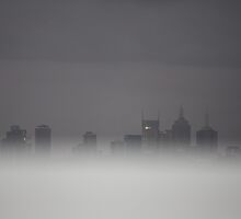 Foggy Melb by creativecamart