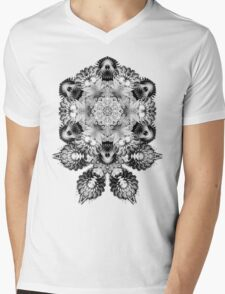 Fractalicious Mens V-Neck T-Shirt