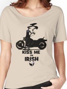 Kiss me I'm Celty Women's Relaxed Fit T-Shirt