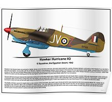 Hawker Hurricane IID Profile Poster