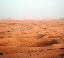 a large United Arab Emirates landscape by beautifulscenes