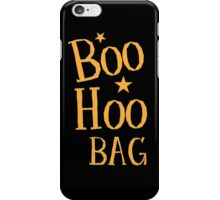 BOO HOO Bag (Anti-Halloween funny design) iPhone Case/Skin