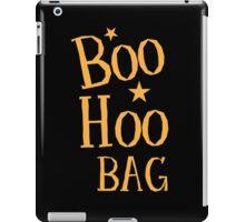BOO HOO Bag (Anti-Halloween funny design) iPad Case/Skin