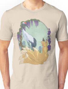 Kitsune and Crane Unisex T-Shirt