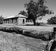 Old Building - Arthur River by Eve Parry