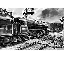 No.45212 Leaving Levisham Station Photographic Print