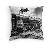 No.45212 Leaving Levisham Station Throw Pillow
