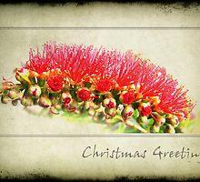 Grungy Christmas by Lorraine Creagh