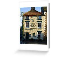 The Black Bull - Middleham Greeting Card