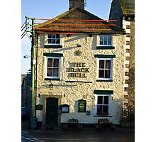 The Black Bull - Middleham Photographic Print