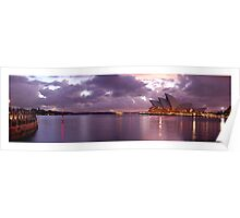 sydney harbour at dawn Poster