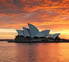 Sydney Opera House dramatic sky by Photo Galleria  Australia