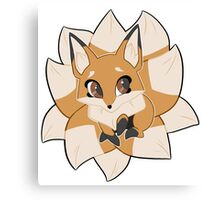Kitsune star Canvas Print