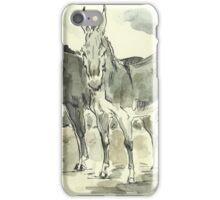 """""""Donkeys"""" iPhone Case/Skin"""