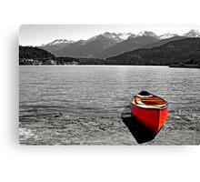 Waiting to take you away Canvas Print