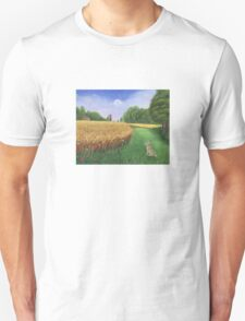 Hare's Path to the Moon Unisex T-Shirt