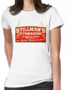 Stillman's Gymnasium New York Womens Fitted T-Shirt
