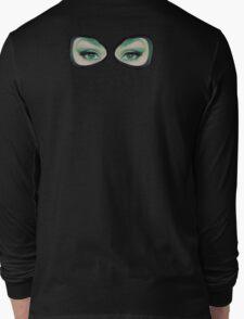 Latex Hood Gaze Long Sleeve T-Shirt