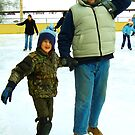 Winter Fun with Dad by Iva Penner