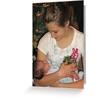 My Daughter Shelby Stealing My Baby  Greeting Card