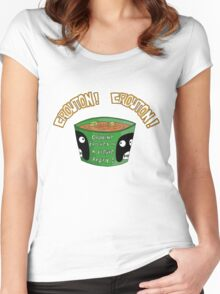 CROUTON...CROUTON!!! Women's Fitted Scoop T-Shirt
