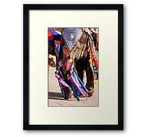 Elephant Ho... Ho... Ho... Framed Print