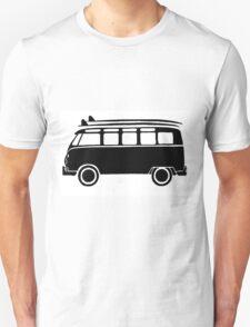 Sp;lit screen surf bus Unisex T-Shirt