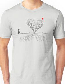 Banksy Heart Tree Unisex T-Shirt