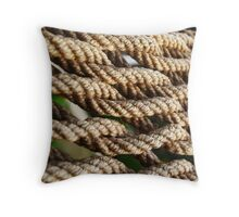 Interlaced Throw Pillow