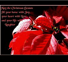 May the Christmas Season fill your Home with Joy by Jan  Tribe