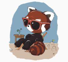 Beach Bum Panda Kids Clothes