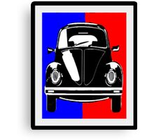 Little Black Bug Canvas Print