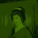 Geisha in Green by Louise Fahy
