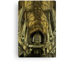 The Organ Canvas Print