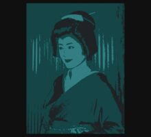 Geisha in Blue by Louise Fahy