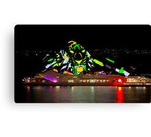 Tiger Tiger Burning Bright - Sydney Vivid Festival - Australia Canvas Print