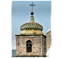 Ornate Bell Tower Poster