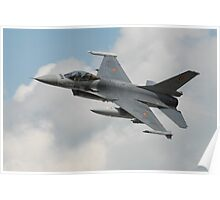 Fighting Falcon, low low low... Poster