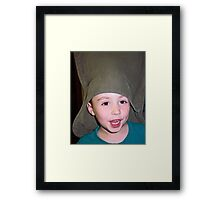 Silly Hat Framed Print