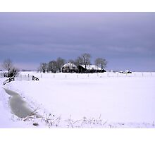 KING WINTER HAS ARIVED Photographic Print