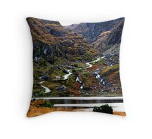 Meandering Through - Gap of Dunloe Throw Pillow