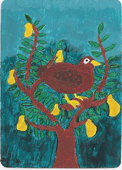 Partridge in a Pear Tree by Tammy Sexton
