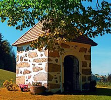 The Binder chapel (and some tree) by Patrick Jobst